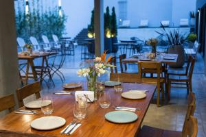 A restaurant or other place to eat at Krista Boutique Hotel