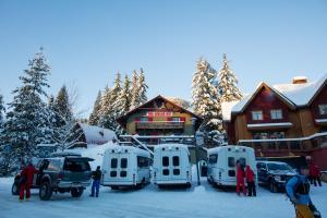 Red Shutter Inn during the winter
