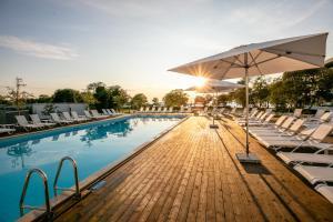 The swimming pool at or near NOVI Resort