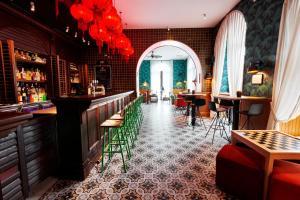 羅馬基納雷特旅舍酒吧或休息區