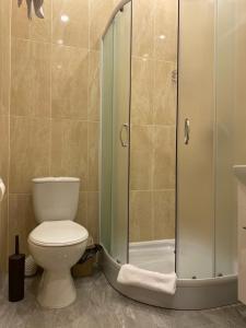 Ein Badezimmer in der Unterkunft Heart Kiev Apart-Hotel