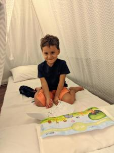 Children staying at Delmond Hotel