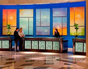 Lobby/Rezeption in der Unterkunft Waldorf Astoria Orlando
