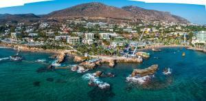 A bird's-eye view of Star Beach Village & Water Park