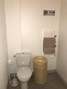 A bathroom at Résidence Néméa Marseille Timone
