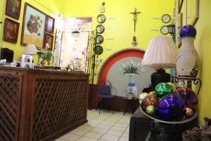 El vestíbulo o zona de recepción de Hostel Casa Zalaoui By Rotamundos