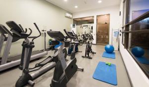 Gimnasio o instalaciones de fitness de Holiday Inn Express - Temuco, an IHG Hotel