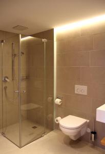 A bathroom at Mats Lech Alpenquartier