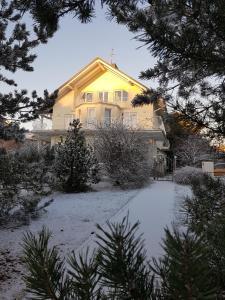 Vila Elvina during the winter