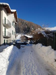 Casa Reit during the winter