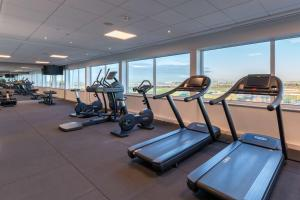 The fitness center and/or fitness facilities at Radisson Blu Hotel Amsterdam Airport, Schiphol
