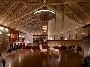 Um restaurante ou outro lugar para comer em InterContinental Bora Bora & Thalasso Spa, an IHG Hotel