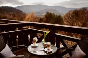 Balkon lub taras w obiekcie Perła Beskidu
