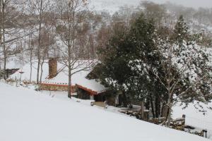 L'établissement Casa do Azevim en hiver