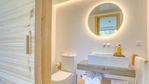 A bathroom at Socalco Nature Calheta