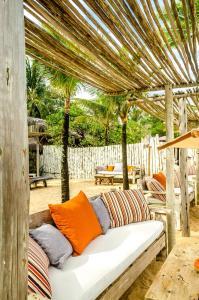 Uma área de estar em Villas de Gaia hotel Boutique