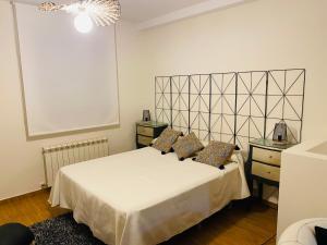 Cama o camas de una habitación en Chinchonspa