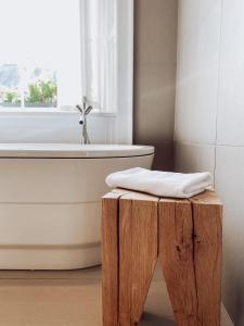 A bathroom at Tigerlily
