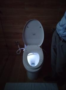 A bathroom at Indra Stay at Bir-Billing