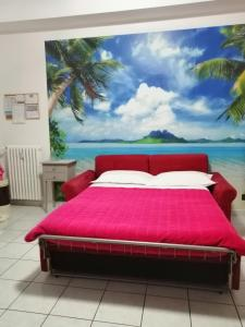 A bed or beds in a room at Come A Casa Tua