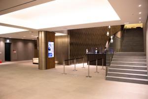 The lobby or reception area at Koreana Hotel