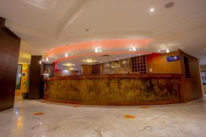 De lobby of receptie bij Fiesta Beach Djerba