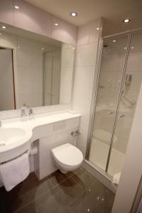 Ein Badezimmer in der Unterkunft Hotel-Restaurant Ochsen