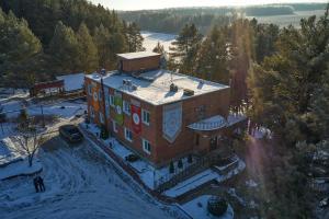Отель Горлица зимой