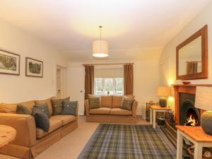A seating area at Beechgrove Cottage