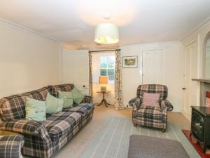 A seating area at South Mains Cottage