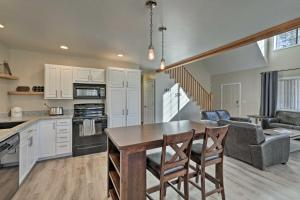 A kitchen or kitchenette at Spacious Family Home Surrounded by Mtn Views!