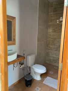 A bathroom at Casa para Temporada em Bonito