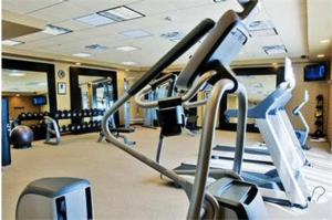 The fitness center and/or fitness facilities at Hilton Garden Inn Amarillo