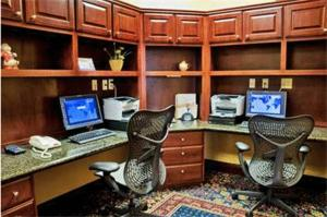 The business area and/or conference room at Hilton Garden Inn Amarillo