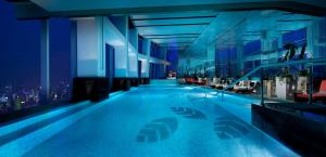 The swimming pool at or near The Ritz-Carlton Shanghai, Pudong