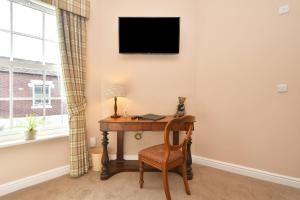 A television and/or entertainment center at The Sutherland Arms