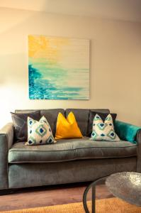 A seating area at Kellas Cottage