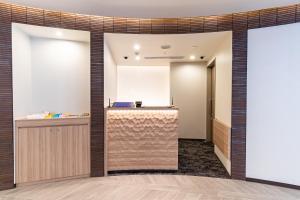 The lobby or reception area at Sotetsu Fresa Inn Yokohama Higashiguchi (Open from 25 October 2020)