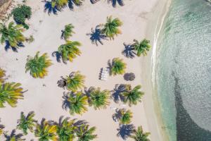 A bird's-eye view of Karibea Beach Hotel