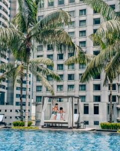 The swimming pool at or near Grand Hyatt Kuala Lumpur