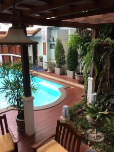 The swimming pool at or near Sripat Guesthouse