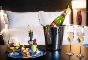 Napoje w obiekcie InterContinental Warszawa, an IHG Hotel