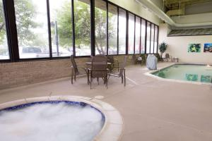 The swimming pool at or near Pear Tree Inn St. Louis Near Union Station