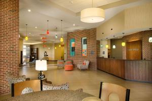 The lobby or reception area at Drury Plaza Hotel San Antonio North Stone Oak