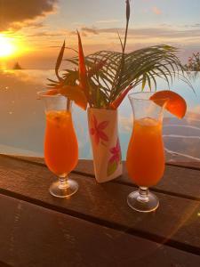 Bebidas em Mata Miti Villa Paradise Tahiti
