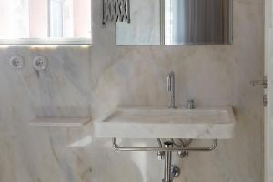 A bathroom at Casa Rosa