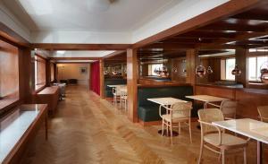 The lounge or bar area at Casa Rosa