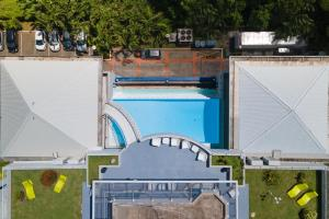 A view of the pool at Karibea La Valmenière Hotel or nearby