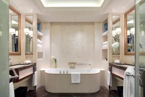 A bathroom at The Peninsula Shanghai