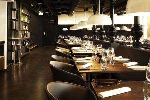 A restaurant or other place to eat at Scandic Aarhus City